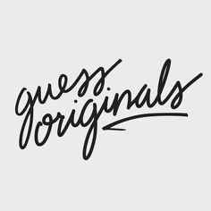 GUESS Originals Fall 2016