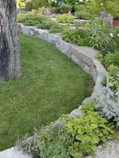 backyard slope design