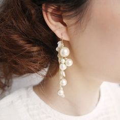Handmade Jewelry - Do Handmade Jewelry Designers Need Any Special Education? Handmade Accessories, Wedding Accessories, Jewelry Accessories, Handmade Jewelry, Jewelry Design, Bridal Earrings, Bead Earrings, Wedding Jewelry, Bijoux Diy