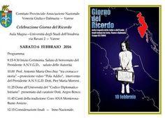 Foibe ed esodo: il giorno del ricordo a Varese