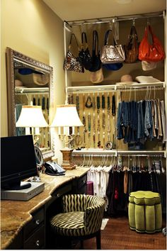 Wish my closet looked like this!!!