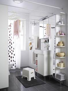 Térkihasználás a fürdőszobában