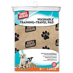 Training and Travel Pad 2 pack Simple Solution Large Dog Training Pad and Travel Pads 30 in x 32 in are reusable absorbent training pads with a variety of uses for pets Simple Solution Washable ** Read more at the image link. (This is an affiliate link) Dog Pee Pads, Puppy Pads, Dog Training Pads, Training Your Dog, Potty Training, Agility Training, Rambo 3, Pet Supermarket, Dog Potty