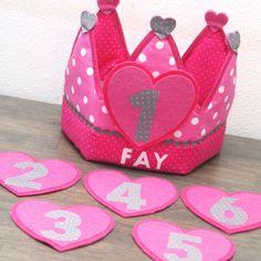 """Verjaardagskroon """"Fay"""""""