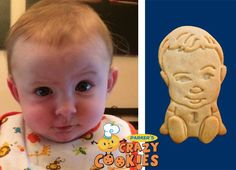 1st Birthday Party - Baby's First Birthday - Custom Cookies - Party Favors - Low Sugar