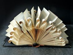 Book Art Sculpture Sun by abadova on Etsy