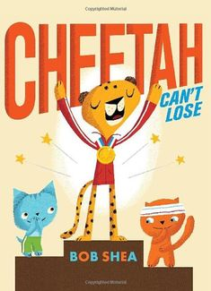 Cheetah Can't Lose by Bob Shea http://www.amazon.com/dp/0061730831/ref=cm_sw_r_pi_dp_p2Rgvb169DT60