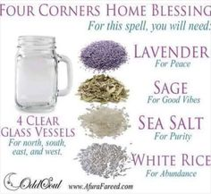 Four Corners House Blessing