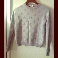 Bunny sweater More for juniors Xhilaration Sweaters Crew & Scoop Necks