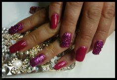 #sparkling nails