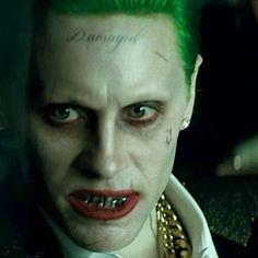 "- Jared Leto as ""The Joker Jared Leto Margot Robbie, Kings & Queens, Der Joker, Jared Leto Joker, In The Pale Moonlight, Greatest Villains, Best Superhero, Dc Movies, Maquillage Halloween"