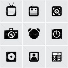 Apps Icon Set  #GraphicRiver         simple apps icon set. black. vector eps8     Created: 6April13 GraphicsFilesIncluded: JPGImage #VectorEPS Layered: No MinimumAdobeCSVersion: CS Tags: alarmclock #app #application #business #button #calculator #camera #clock #collection #computer #data #home #house #icon #isolated #mail #media #message #mobile #multimedia #pictograms #radio #set #sign #silhouette #symbol #tv #vector #web #website
