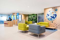 This global science-led pharmaceutical company has adopted agile thinking for their new Sydney office, designed by Futurespace. Work Office Design, Dental Office Design, Modern Office Design, Workplace Design, Healthcare Design, Modern Interior Design, Modern Offices, Medical Design, Visual Merchandising