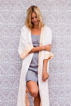 Reversible Kimono Robe - Kerry Cassill Collection