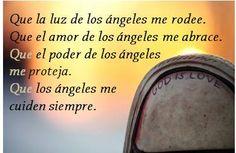 #UniversoDeAngeles Afirmación para la protección angelical.