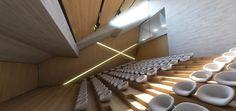 Lm architects. Auditorium in Athens