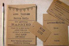 Items similar to Simple Wedding Invitations: typewriter font, vintage rustic wedding inviation on Etsy Wedding Invitation Inspiration, Simple Wedding Invitations, Wedding Stationery, Rustic Wedding, Our Wedding, Garden Wedding, Wedding Stuff, Dream Wedding, Wedding Ideas