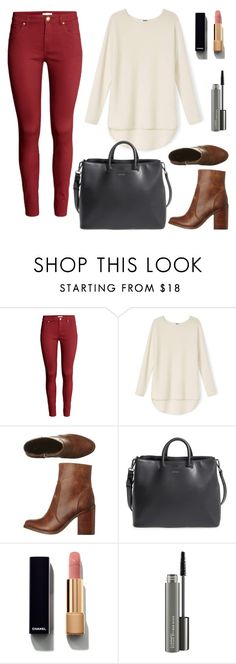 """october ."" by high-style-smg ❤ liked on Polyvore featuring H&M, Lipstik, Matt & Nat, Chanel and MAC Cosmetics"