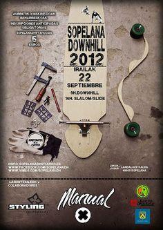II Edición del Sopelana Downhill: sábado 22 de septiembre de 2012.  Downhill, slalom y slide. Inscripciones abiertas