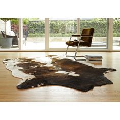 Found it at Wayfair - Grand Canyon Beige & Brown Faux Area Rug