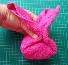 Washcloth Reindeer Tutorial