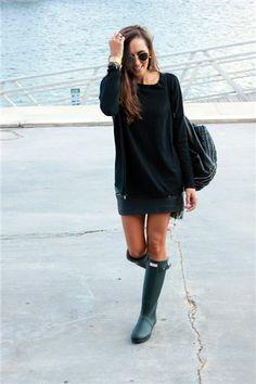 Moda bloguera: botas de agua