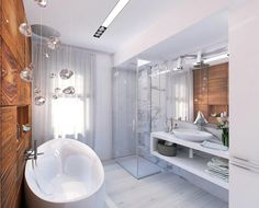 Дизайн ванной комнаты 8 кв.м. с туалетом (5)