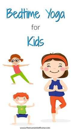 Llama llama red pajama book inspired bedtime yoga for kids. Calm kids down before bed with these yoga poses. This week's virtual book club for kids. Stretches For Kids, Bedtime Stretches, Yoga For Kids, Exercise For Kids, Kids Workout, Kids Gym, Lama Lama, Bedtime Workout, Bedtime Yoga