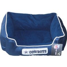 Dallas Cowboys Pet Bed | The next bed I buy for my dog! <333