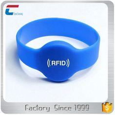 MIFARE DESFire EV1 durable waterproof rfid security wristband