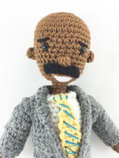 Talk Show Game Show Host Crochet Amigurumi by HandmadebyAdwoa