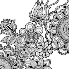 intricate coloring pages for adults - Bing Изображения