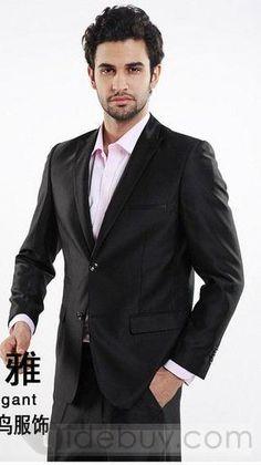 Classic Smart 2 Button Wedding Suit (Two Piece Set) : Tidebuy.com