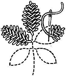 Cretan stitch2 - Featherstitch - Wikipedia, the free encyclopedia