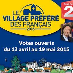 Montrésor, second Village Préféré des Français 2015