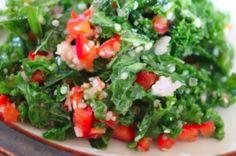 Red Pepper & Kale Salad
