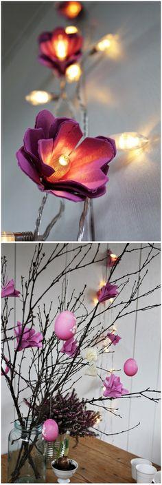 Tavaszi és húsvéti ötletek tojástartóból - Színes Ötletek Blog Reuse, Shabby Chic, Seasons, Lighting, Diy, Creative, Plants, Blog, Decoration