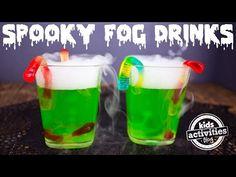 {Halloween Party Drink} Fog Drinks | Kids Activities Blog