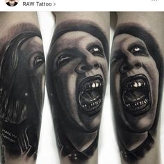 Work by @arronrawtattoo