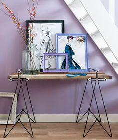 #DIY Trestle table - #101woonideeen.nl - Dutch interior and crafts magazine