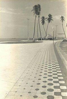 Belo registro da Beira Mar de Fortaleza! Anos 80!