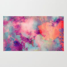 Colorful clouds in the sky Rug by dorianlegret Positive Thinker, Positive Thoughts, Positive Vibes, Colorful Clouds, Ipad Mini Cases, Ipad Case, Home Room Design, Love Life Quotes, Affirmation Quotes