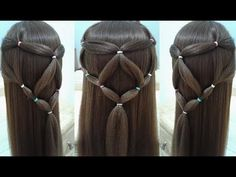 HAIRSTYLE STEP-BY-STEP FASHION 2018 FOR SCHOOL WITH EASY AND QUICK BRAIDS #6 - YouTube