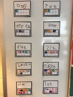I don't buy things like color, number or letter charts from teacher stores because the kids make them so much more beautiful! I don't have c...