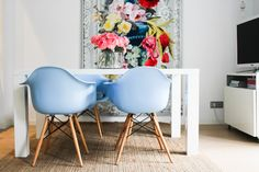 Exquisite Architecture & Elegant Florals in a Fashion Designer's Spanish Home