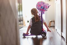 #backtoschool #schoolrun getting ready for going back to school should be fun not a chore. Find out why scooting to school can help improve your child's concentration and your waistline. #adultscooting #maximicro #floral #scooter #kidsscooters