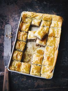Use leftover Christmas nuts to create our delicious recipe for Baklava. Find more leftover recipes on the Waitrose website. Christmas Desserts, Vegan Christmas, Christmas Cooking, Christmas Mood, Christmas Treats, Christmas Recipes, Xmas, Great British Food, A Food
