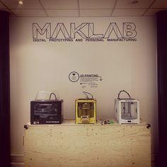 3D Printers at MAKLab