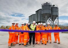 One of the UK's biggest readymix concrete suppliers has opened a new plant on the Fylde Coast.