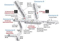 Us Airways Airbus A321 321 Seat Map Travel Flight